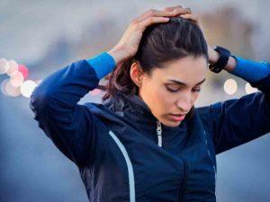 náuseas al correr