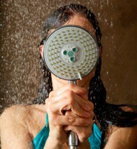 alongar en la ducha
