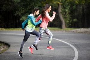 correr con una más lenta